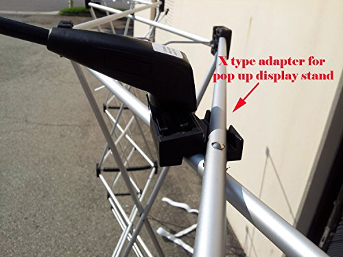 Pop Up Display Lights - X Adapter Mount