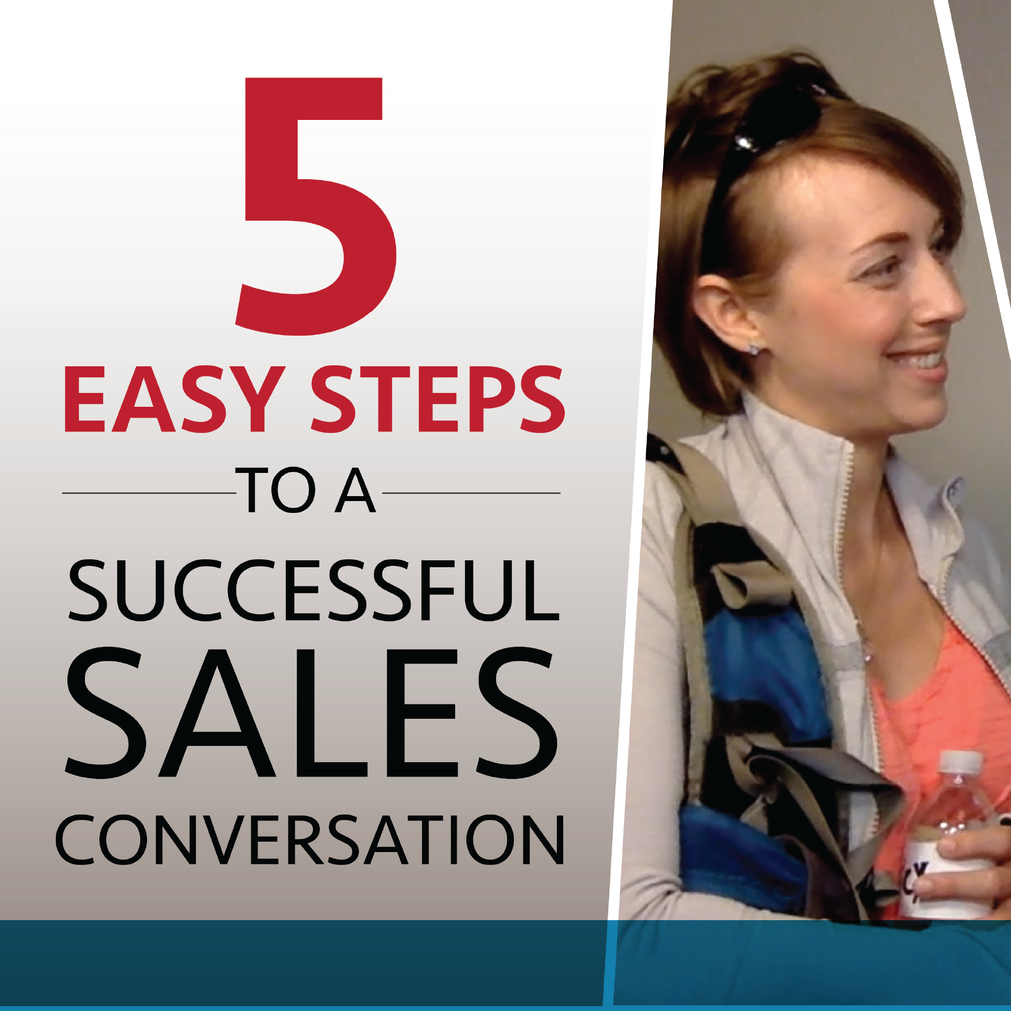 Sales Training Strategies: Face To Face Selling Tips: Stop Traffic W/ Icebreakers