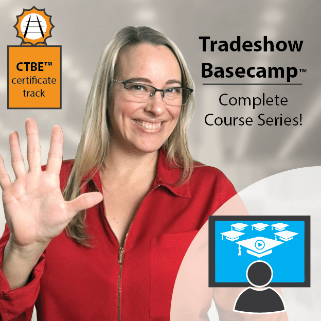 Face-to-Face Selling? The training you need...Tradeshow Basecamp™
