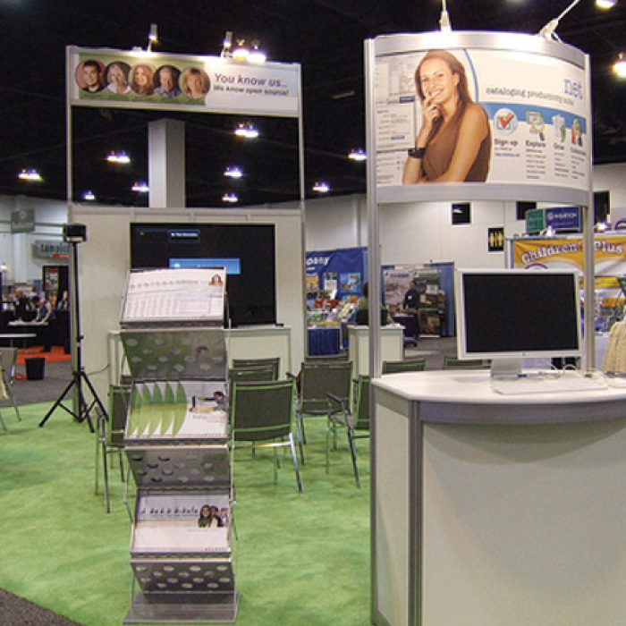 Trade Show Lighting - Our Exhibit
